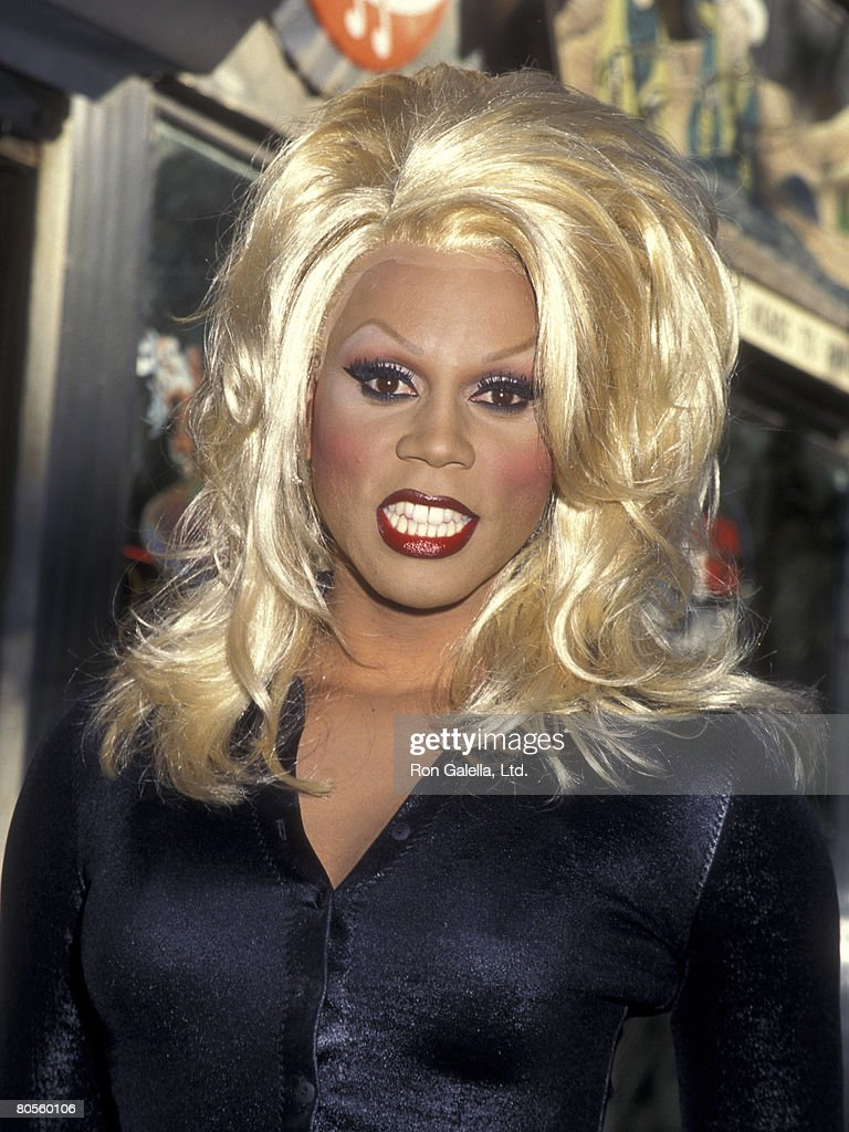 Performer RuPaul attends the Third Annual 'Kids for Kids' Celebrity Carnival to Benefit Elizabeth Glaser Pediatric AIDS Foundation on October 1, 1995 at Industria Superstudio in New York City, New York.