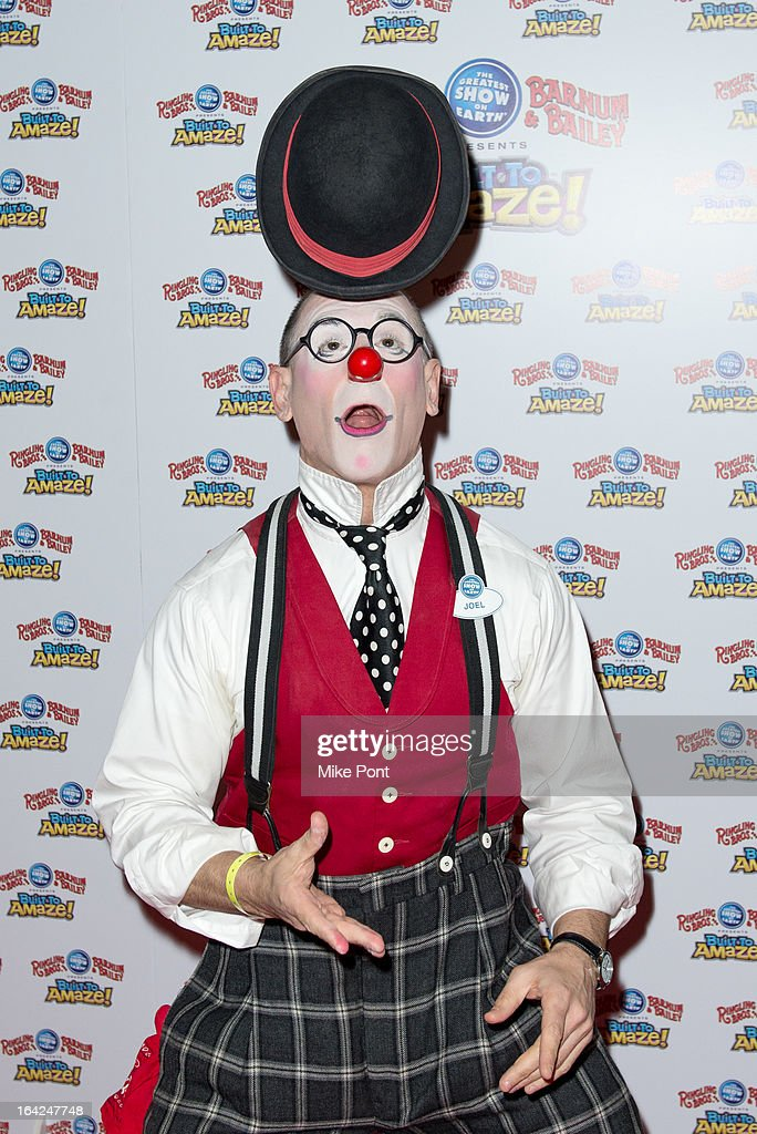 Performers attend the Ringling Bros. and Barnum & Bailey 'Build To Amaze!' Opening Night at Barclays Center on March 21, 2013 in the Brooklyn borough of New York City.