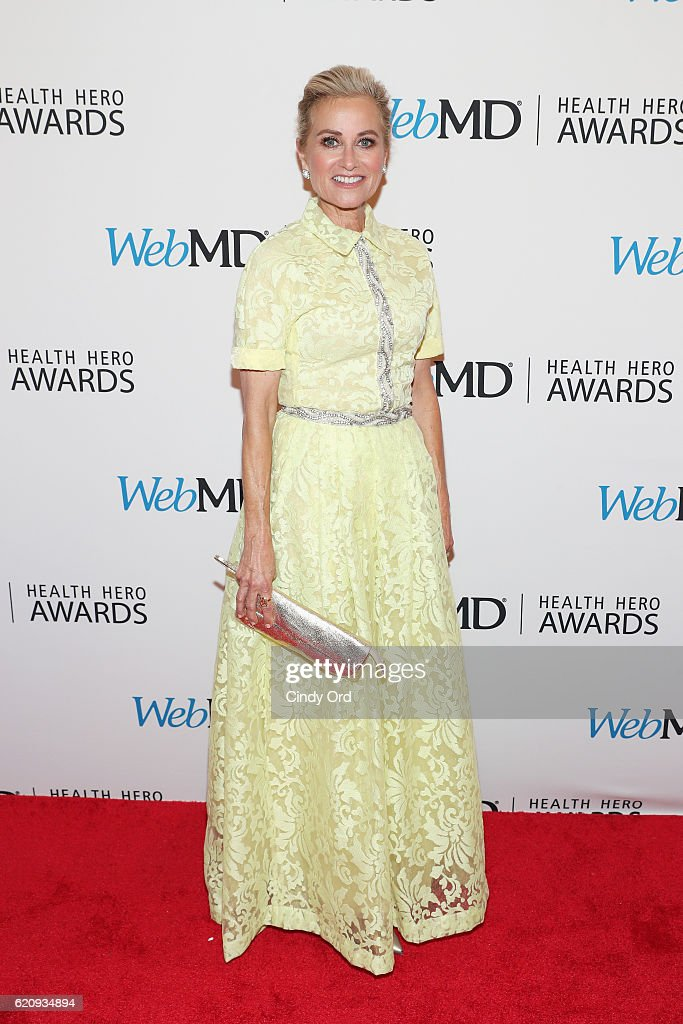 Performers Presenter Maureen McCormick attends WebMD Health Heroes Awards on November 3, 2016 in New York City.