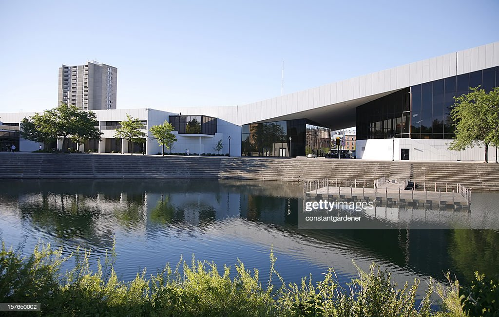 Performing Art Center And Water Stage Spokane Washington