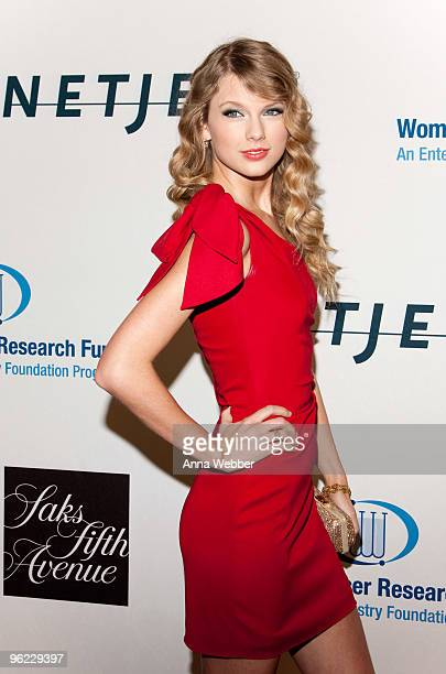Performing Artist Taylor Swift attends An Unforgettable Evening Benefitting EIF's Women's Cancer Fund at Beverly Wilshire Four Seasons Hotel on...