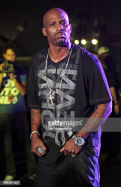 DMX performs as part of the 2010 Epicenter Music Festival at Auto Club Speedway on September 25 2010 in Fontana California