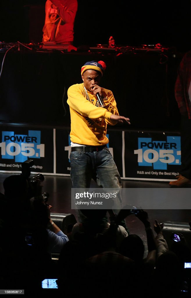 T.I. performs at Best Buy Theater on December 18, 2012 in New York, United States.