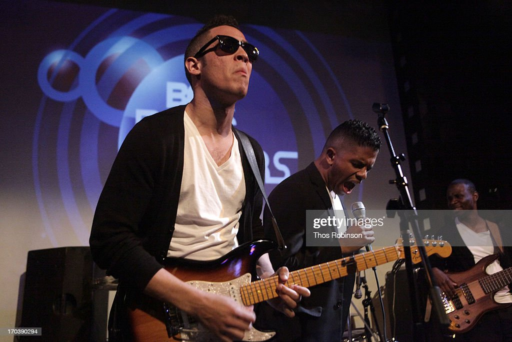 DB2 performs at BET's Music Matters Showcase at SOB's on June 11, 2013 in New York City.