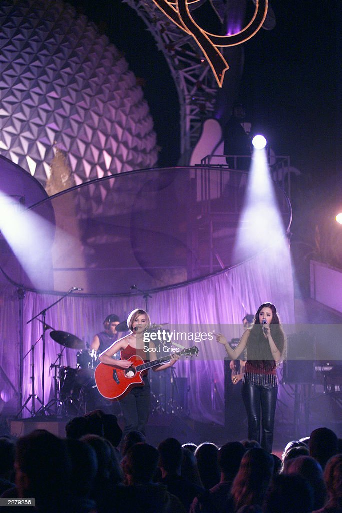M2M performs at Epcot Center in Disney World on Feb 2 2000 Photo Scott Gries/ImageDirect