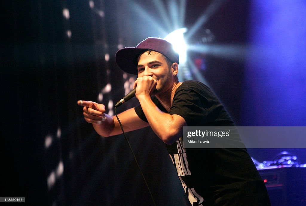A. performs at Highline Ballroom on April 28, 2012 in New York City.