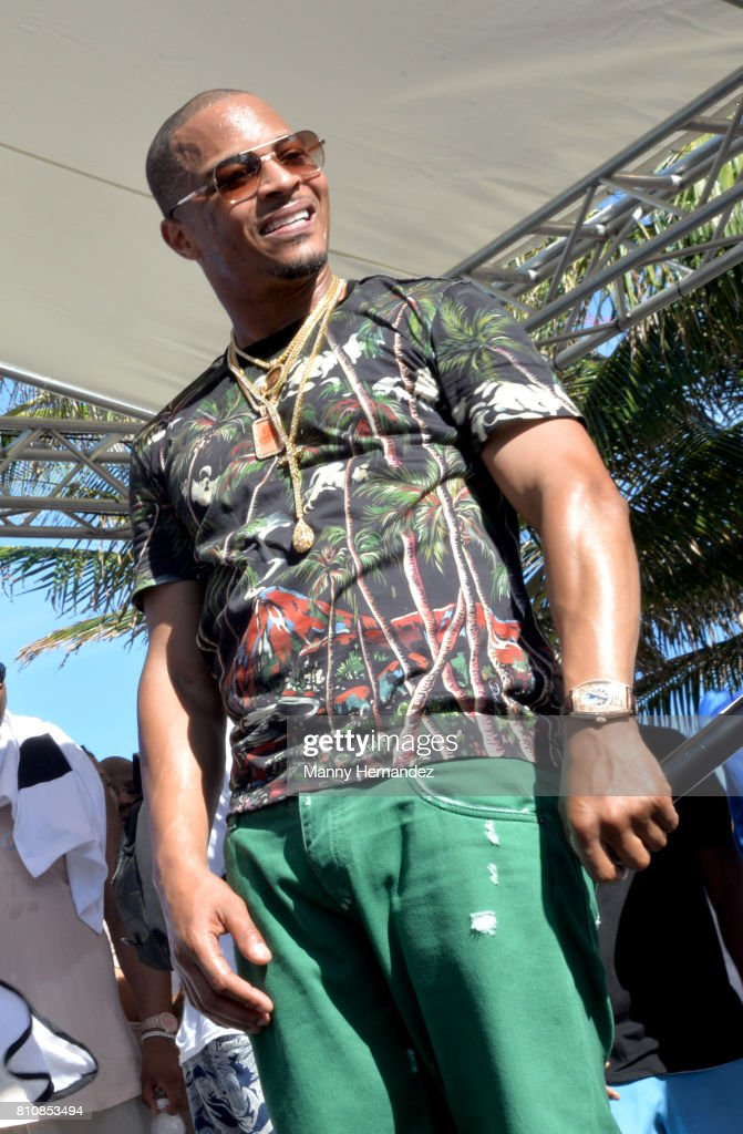 T.I. performs at Irie Weekend Pool Party at the Eden Roc on July 1, 2017 in Miami Beach, Florida.