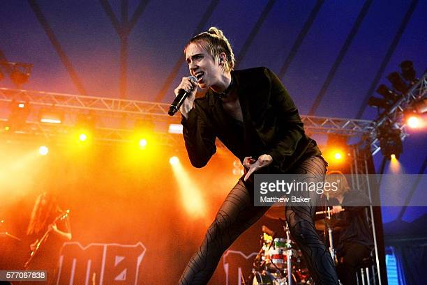 MØ performs at Latitude Festival at Henham Park Estate on July 17 2016 in Southwold England