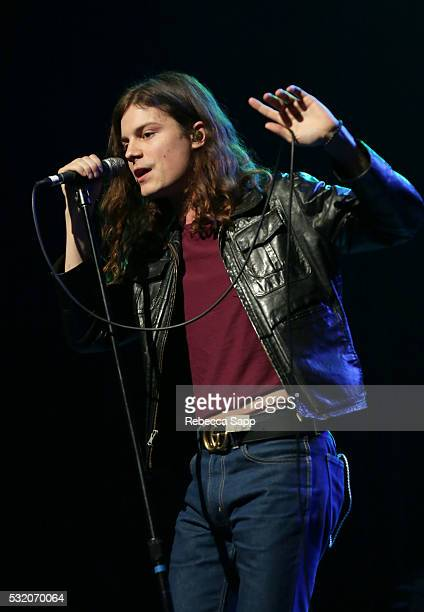 BORNS performs at Los Angeles GRAMMY Showcase at The Fonda Theatre on May 17 2016 in Los Angeles California