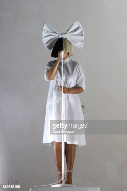 SIA performs at Mt Smart Stadium on December 5 2017 in Auckland New Zealand
