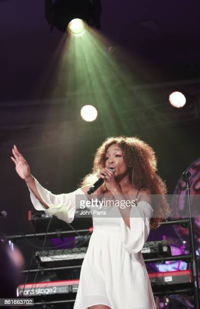 SZA performs at REVOLT Music Gala Dinner Award Presentation at Eden Roc Hotel on October 14 2017 in Miami Beach Florida