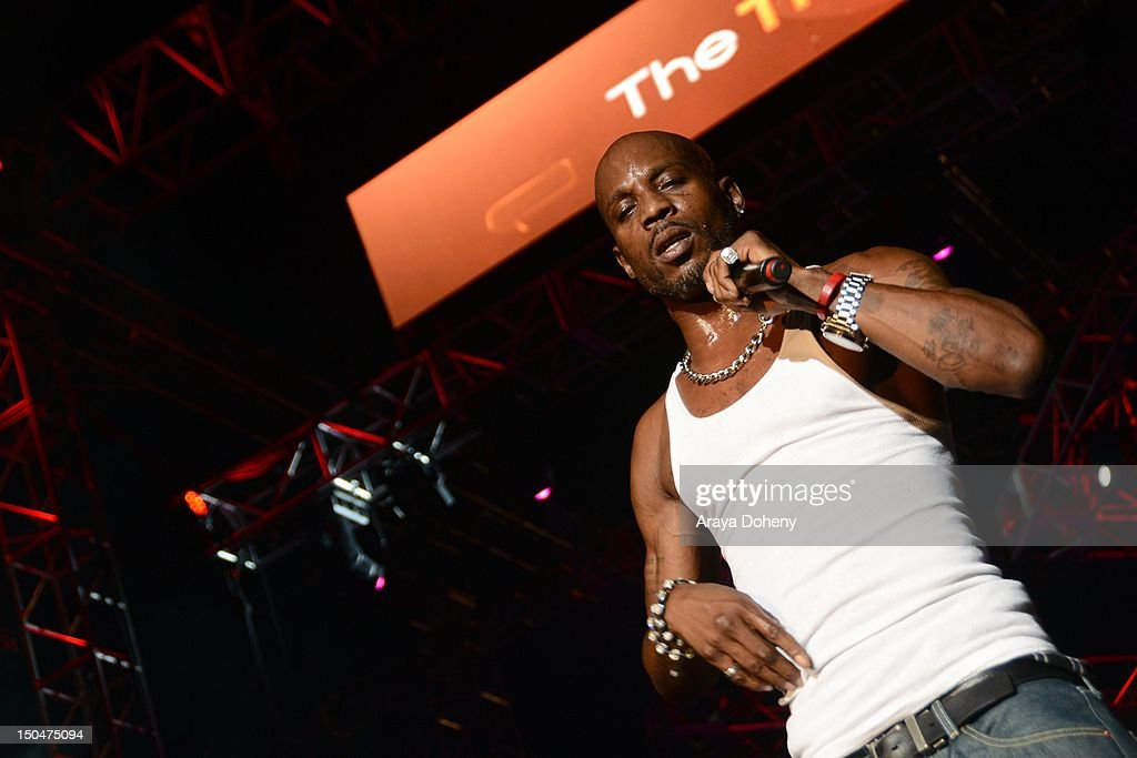 DMX performs at Rock The Bells Music Festival at NOS Events Center on August 18, 2012 in San Bernardino, California.