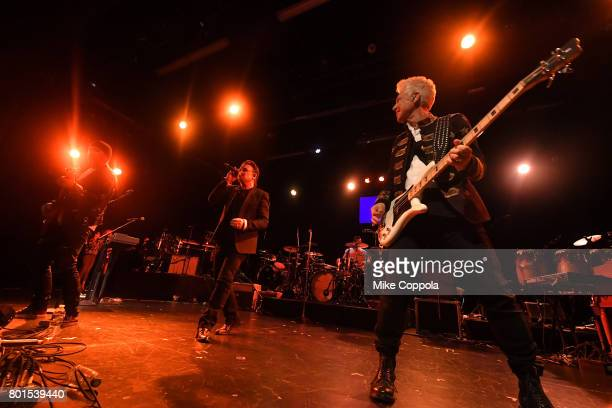 U2 performs at the 13th Annual MusiCares MAP Fund Benefit Concert at the PlayStation Theater on June 26 2017 in New York City Proceeds benefit the...