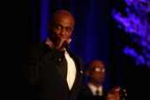 KEM performs at the 2014 Steve Marjorie Harvey Foundation Gala presented by CocaCola at the Hilton Chicago on May 3 2014 in Chicago Illinois