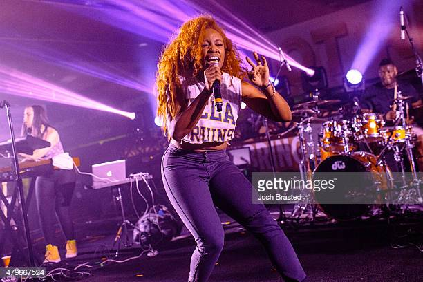 SZA performs at the 2015 Essence Music Festival on July 5 2015 in New Orleans Louisiana