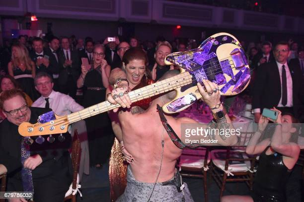 DNCE performs at the 28th Annual GLAAD Media Awards at The Hilton Midtown on May 6 2017 in New York City