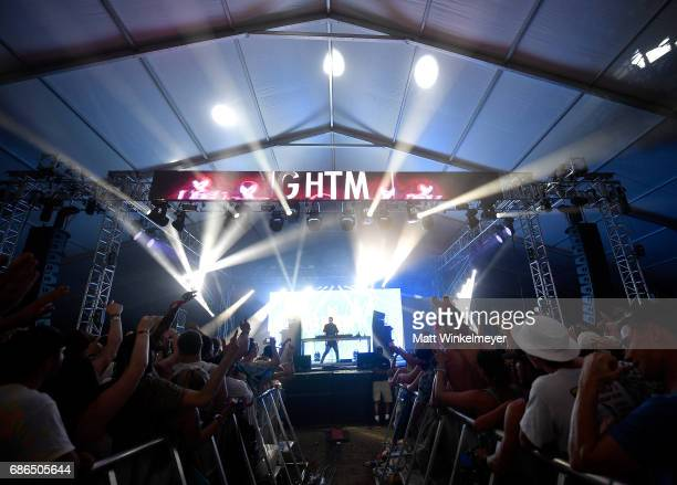 NGHTMRE performs at the Boom Boom Tent during 2017 Hangout Music Festival on May 21 2017 in Gulf Shores Alabama