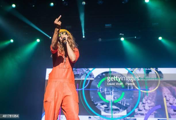 A performs at Zenith de Paris on July 6 2014 in Paris France