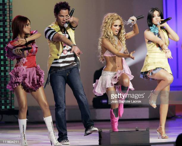RBD performs 'Aun hay algo' during 2006 Billboard Latin Music Conference and Awards Show at Seminole Hard Rock Hotel and Casino in Hollywood Florida...