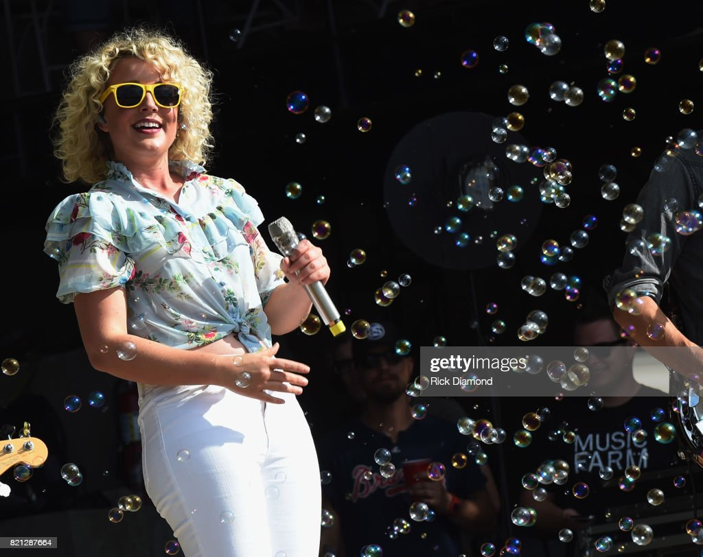 CAM performs during Country Thunder In Twin Lakes, Wisconsin - Day 3 on July 22, 2017 in Twin Lakes, Wisconsin.