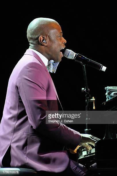 KEM performs during the 2013 Macy's Music Festival at Paul Brown Stadium on July 27 2013 in Cincinnati Ohio