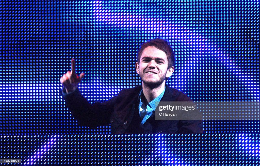 ZEDD performs during the 2013 mtvU Woodie Awards on March 14, 2013 in Austin, Texas.