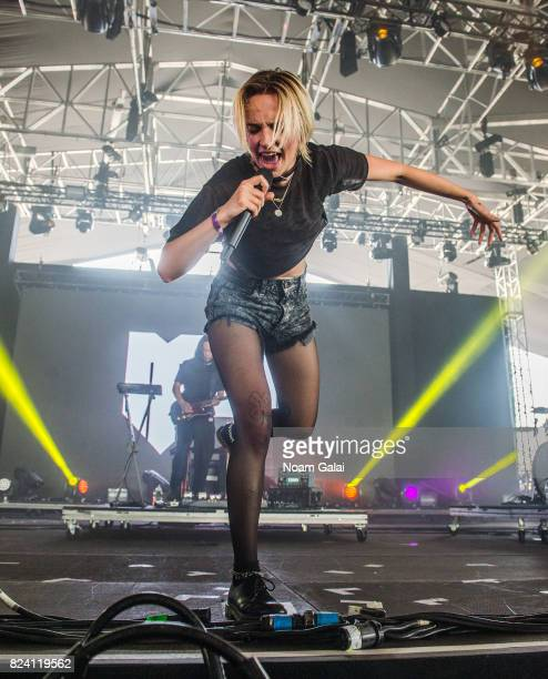 MO performs during the 2017 Panorama Music Festival Day 1 at Randall's Island on July 28 2017 in New York City