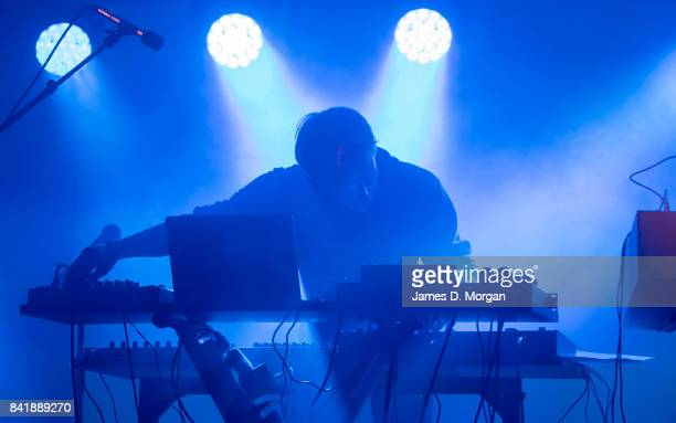 DJ performs in a laneway on September 2 2017 in Aarhus Denmark The final weekend of the Aarhus Festival is taking place and makes Denmark's second...