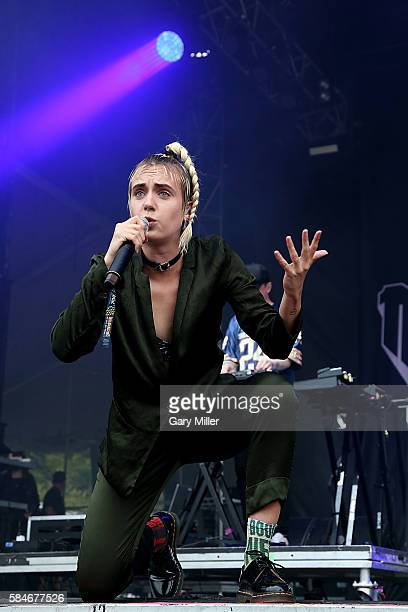 MØ performs in concert on Day 2 of the 25th anniversary Lollapalooza at Grant Park on July 29 2016 in Chicago Illinois
