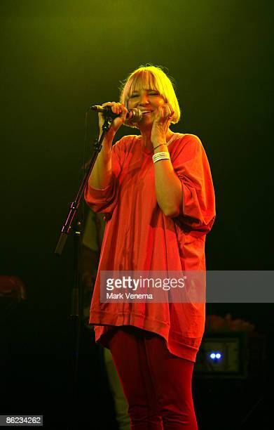 SIA performs live at Melkweg on April 26 2009 in Amsterdam Netherlands