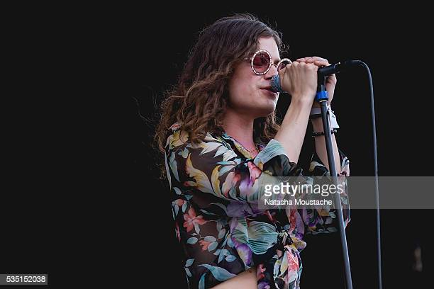 BORNS performs on Day 2 of the Boston Calling Festival on Government Center Plaza on May 28 2016 in Boston Massachusetts