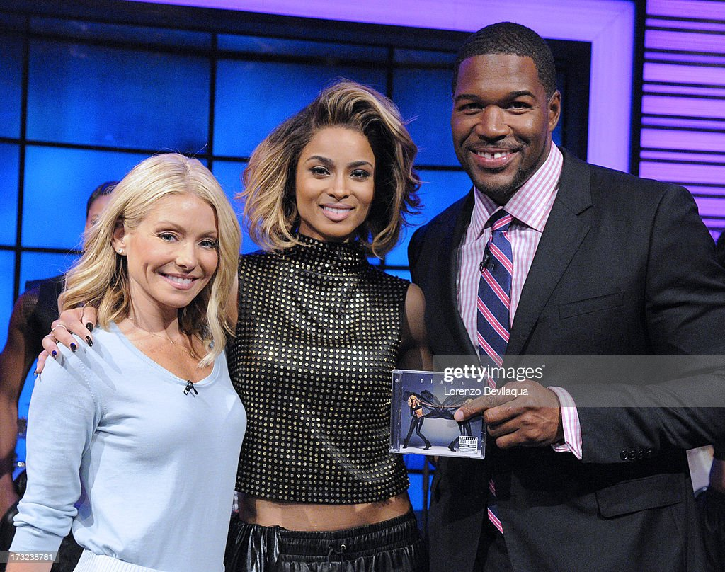 MICHAEL -7/10/13 - CIARA performs on 'LIVE with Kelly and Michael,' distributed by Disney-ABC Domestic Television. STRAHAN