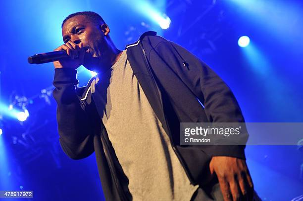 GZA performs on stage at The Roundhouse on June 28 2015 in London United Kingdom
