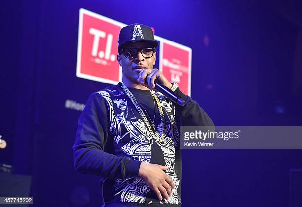 I performs on the Honda Stage at the iHeartRadio Theater Los Angeles on October 23 2014 in Burbank California
