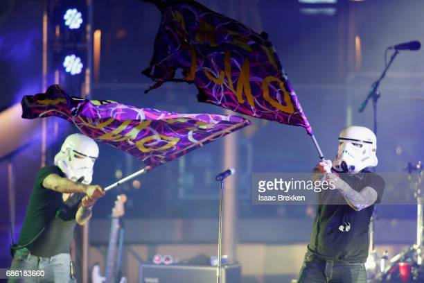 DNCE performs on the second night of CBS RADIO's 'SPF' concert at The Boulevard Pool at The Cosmopolitan of Las Vegas on May 20 2017 in Las Vegas...