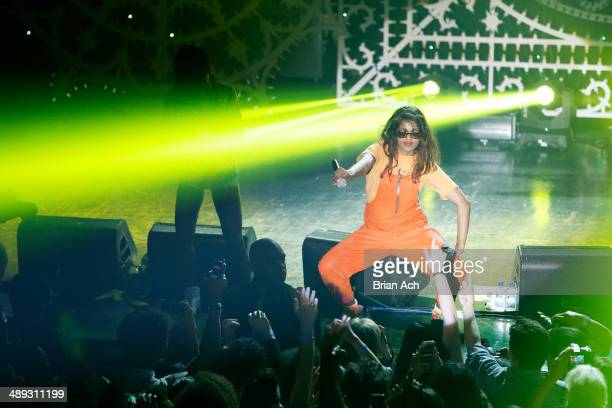A performs onstage at the Vulture Festival Presents MIA Solange at Webster Hall on May 10 2014 in New York City