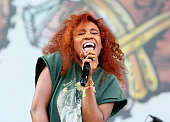 SZA performs onstage during day 1 of the 2015 Life is Beautiful festival on September 25 2015 in Las Vegas Nevada