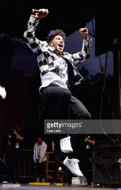 KYLE performs onstage during the 2017 Budweiser Made in America festival Day 2 at Benjamin Franklin Parkway on September 3 2017 in Philadelphia...