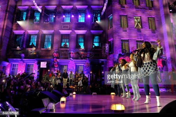 XSCAPE performs onstage during VH1 Hip Hop Honors The 90s Game Changers at Paramount Studios on September 17 2017 in Los Angeles California