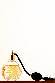 Perfume atomizer, close-up