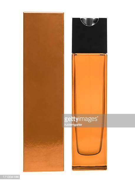 香水ボトルとボックス