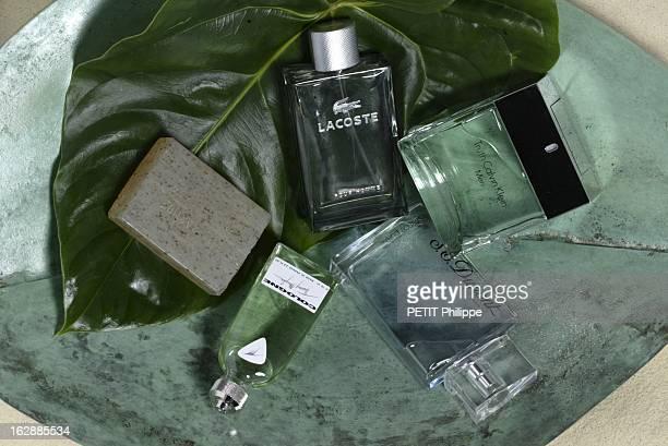 Perfumes For Men Les parfums pour hommes le naturel flacons de parfum COLOGNE de Thierry MUGLER LACOSTE POUR HOMME TRUTH MEN de Calvin KLEIN et...