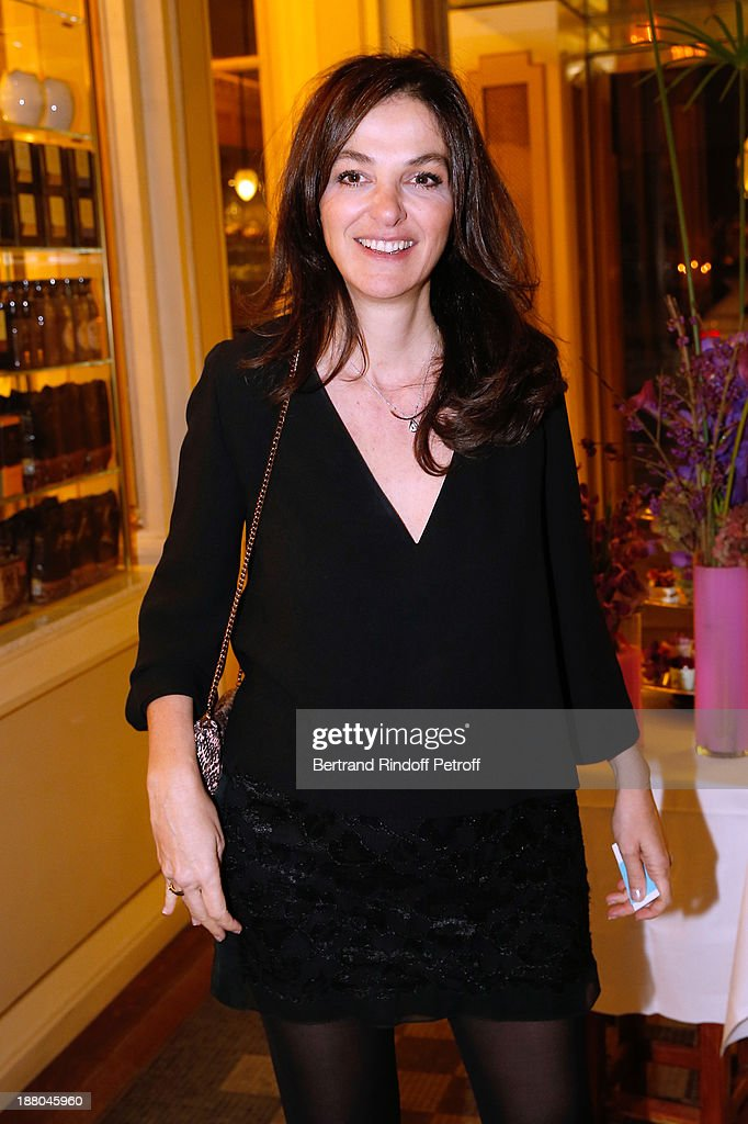 Peri Cochin attends the 50th Anniversary party of Stephane Bern, called 'Half a century, it's party', celebrated at Angelina on November 14, 2013 in Paris, France.