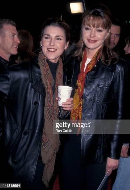 Peri Gilpin and Jane Leeves at the Premiere of 'Down Periscope' Mann Village Theater Westwood