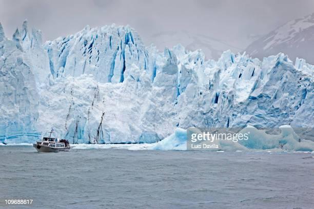 Perito Moreno Glacier in Glacier National Park in Patagonia Argentina December 2010
