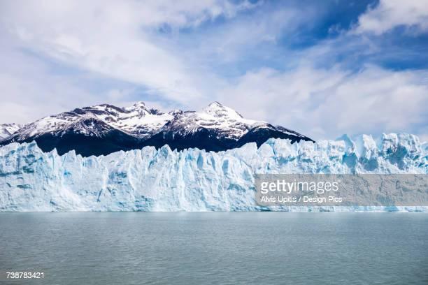 Perito Moreno Glacier in Los Glaciares National Park in Argentinian Patagonia, near El Calafate