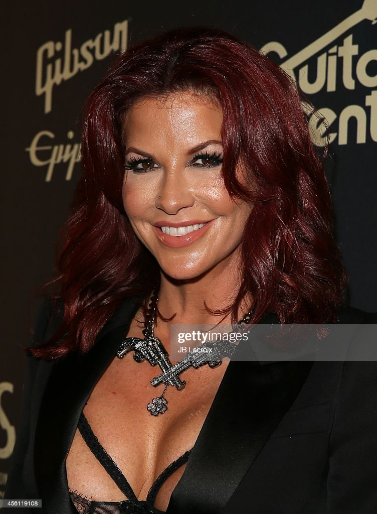 Perla Ferrar attends the Slash Featuring Myles Kennedy & The Conspirators In Concert on September 25, 2014, in West Hollywood, California.