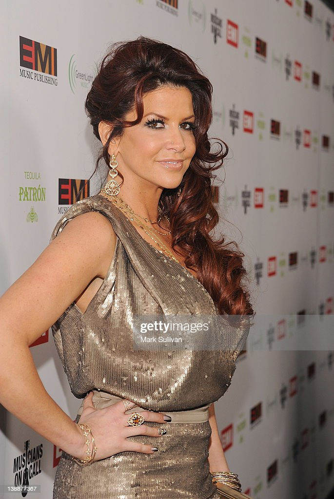Perla Hudson attends the EMI Post-GRAMMY Party At The Capitol Tower at Capitol Records Tower on February 12, 2012 in Los Angeles, California.