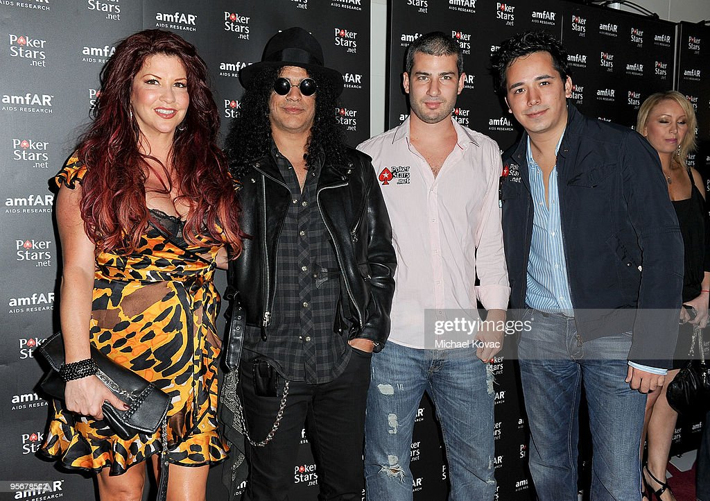 amfAR Cocktail Party & PokerStars Red Carpet And Party