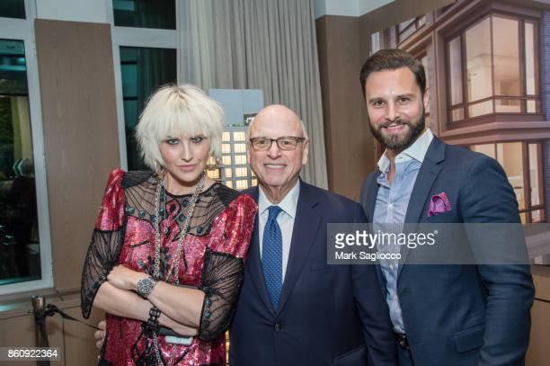 Perlman Howard Lorber and Glenn Davis attend the Alfa Development Launch Celebration on October 12 2017 in New York City
